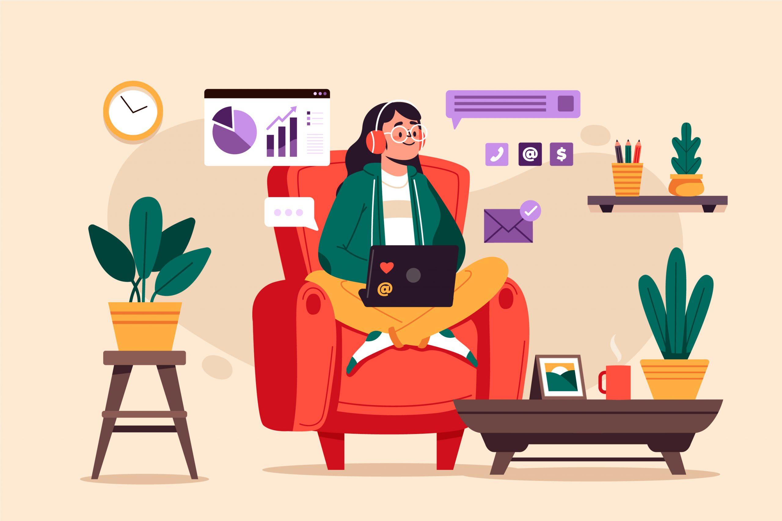 Home office – výhody a nevýhody